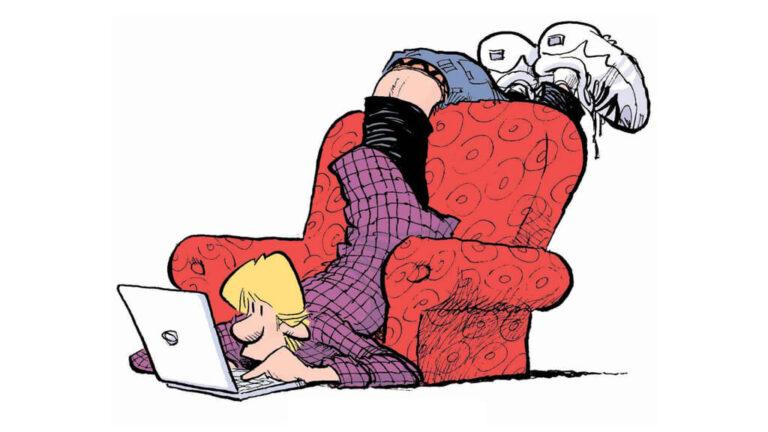 Tegneserier på nett