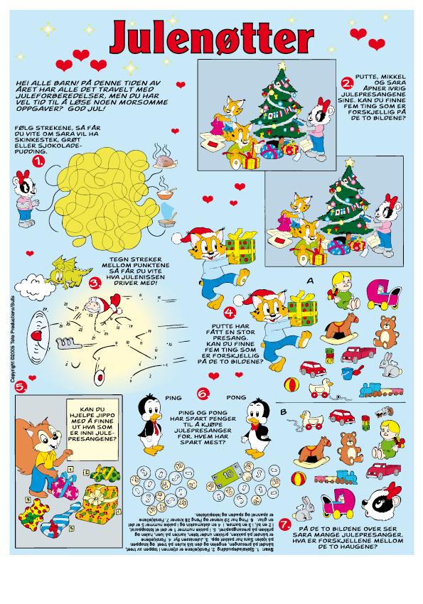 Barnas julenøtter